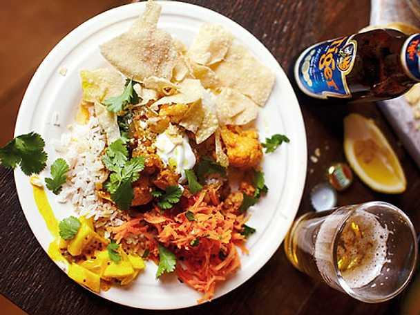 Jamie Olivers vegetariska currygryta