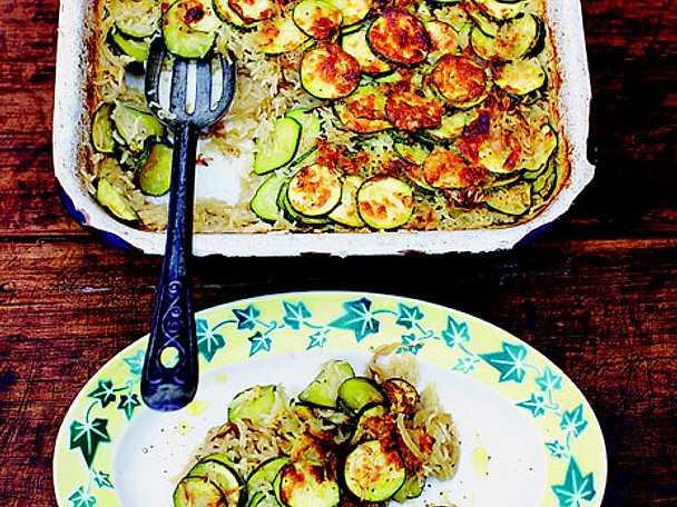 Jamie Olivers zucchinigratäng