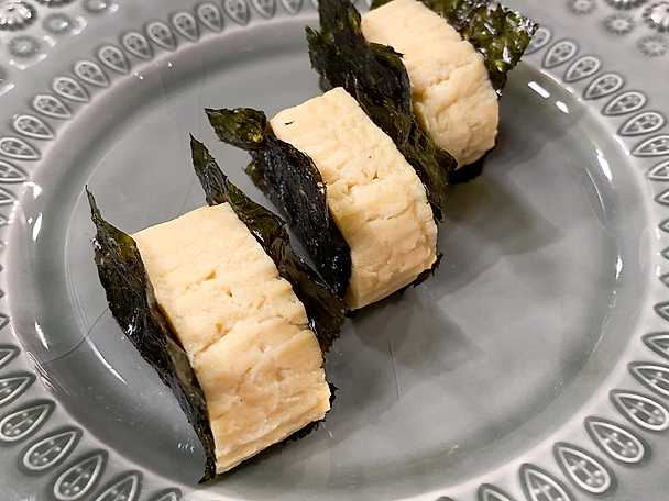 Japansk omelett - Dashimaki tamagao