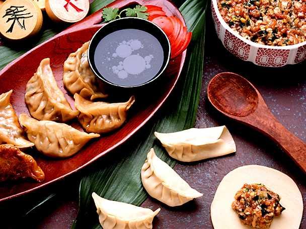 Japanska dumplings