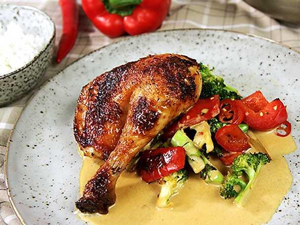 hel kyckling i ugn recept