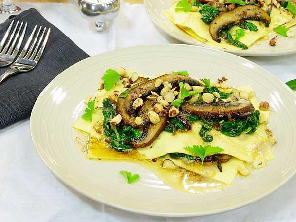 Jennies vegetariska lasagne
