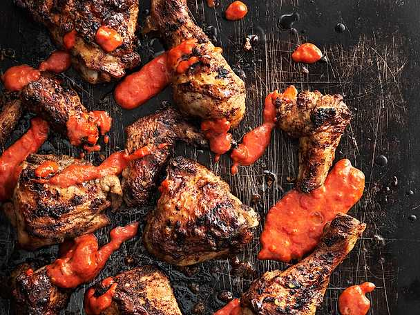 Jerk chicken, Tareq Taylors recept