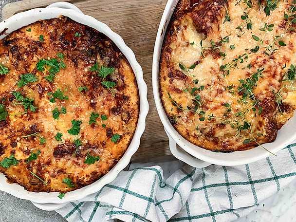 Jessicas vegetariska lasagne