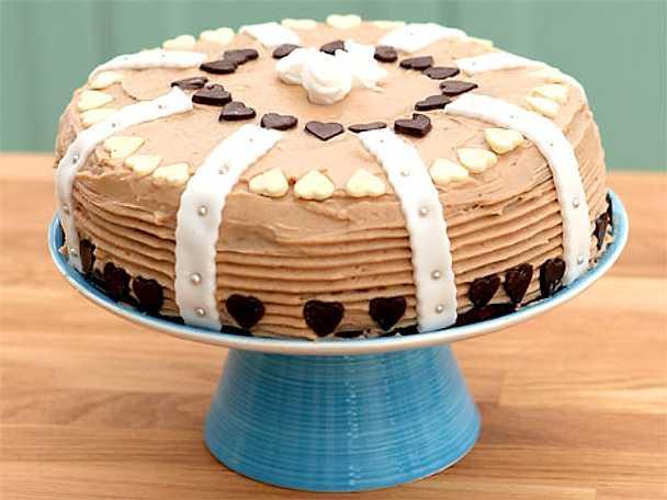 Jonnemans chokladtårta med smörkräm