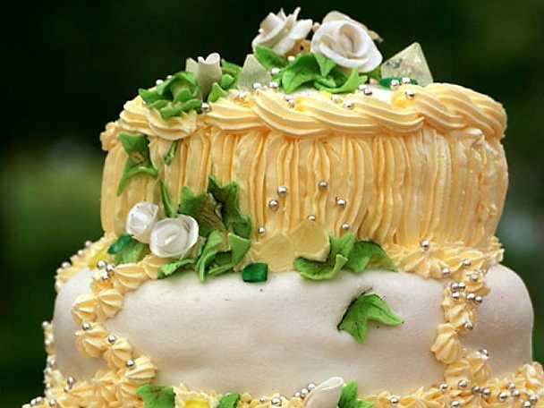 Josephines bröllopstårta