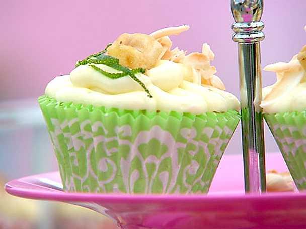 Josephines cupcakes med citron, banan och kokos eller choklad