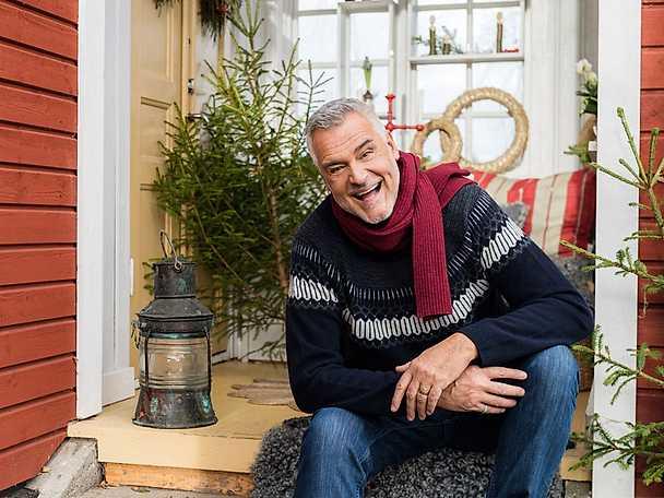 Jul med Ernst 2017 trappa