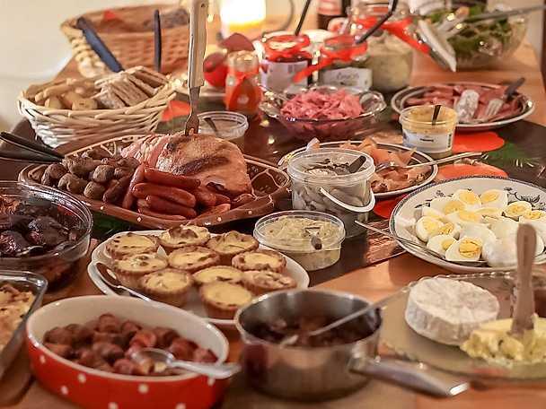 Julbordet -checklista med alla rätter