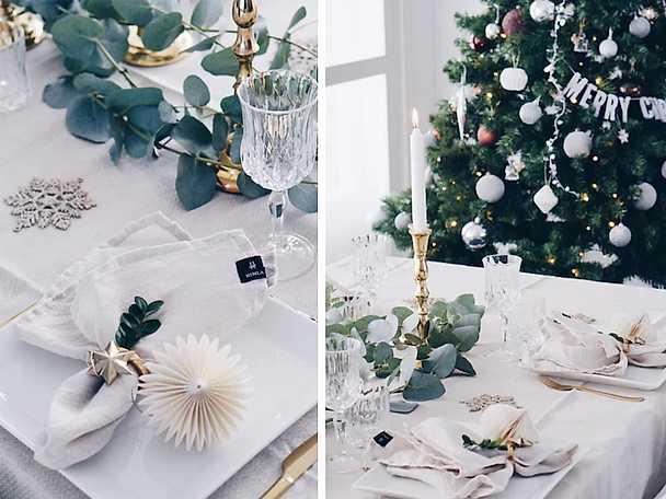Juldukning Jennys rum och spis 2