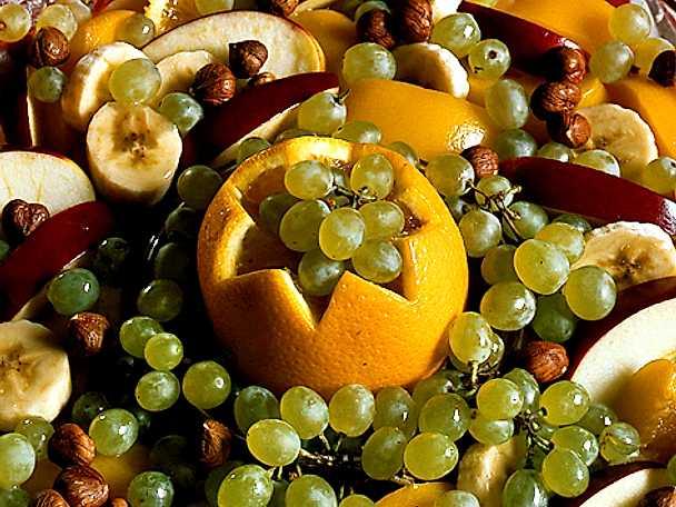 Julens fruktsallad