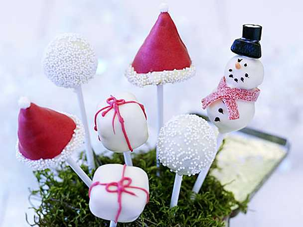 cake pops julrecept