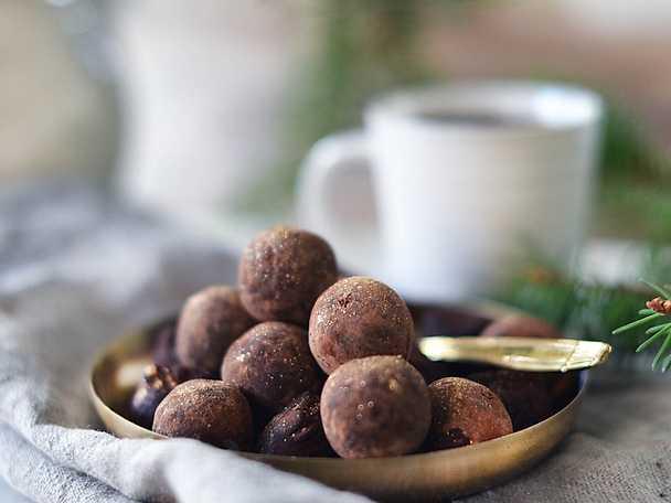 Kaffetryfflar med rom