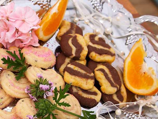 Kakor med apelsin och choklad