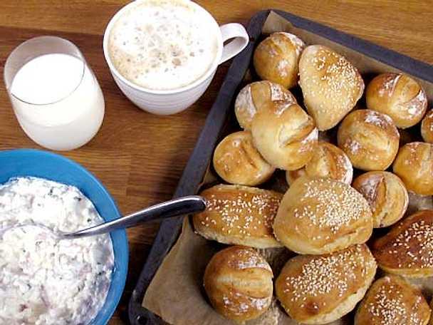 Kalljäst bröd med kesoröra