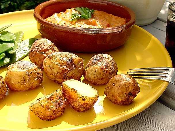 Kanarisk potatis med mojo