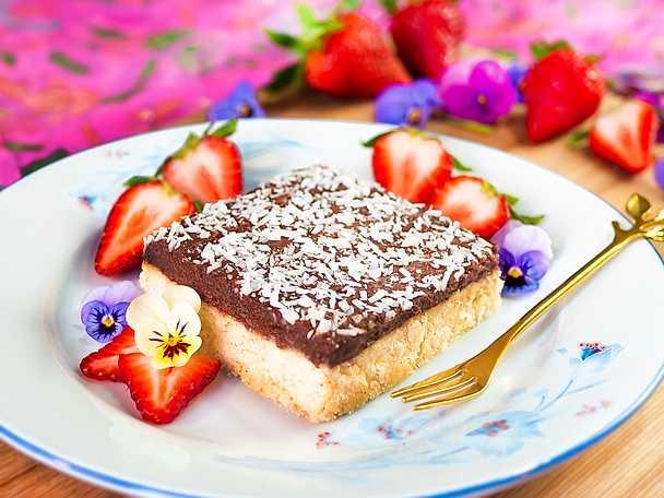 Kärleksmums med underbar chokladglasyr