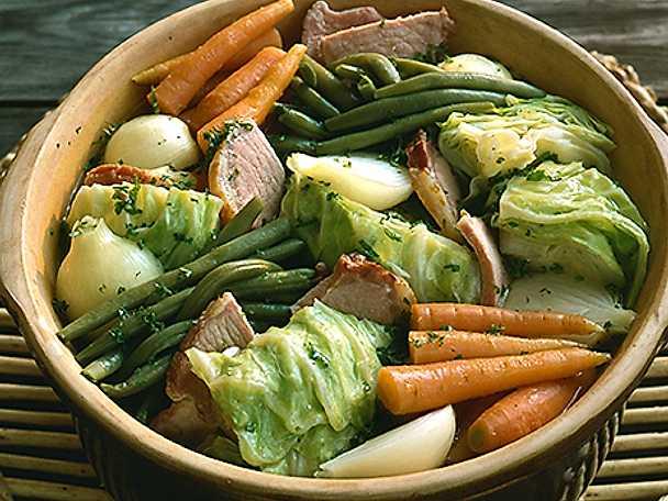 Kassler- och grönsaksgryta