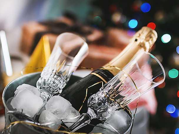 KF champagneglas