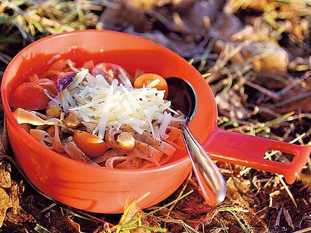 Kikärts- och parmesanpasta
