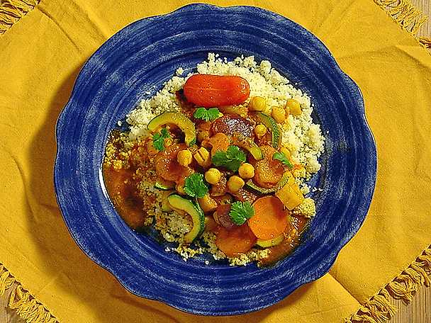 Kikärtsgryta med couscous