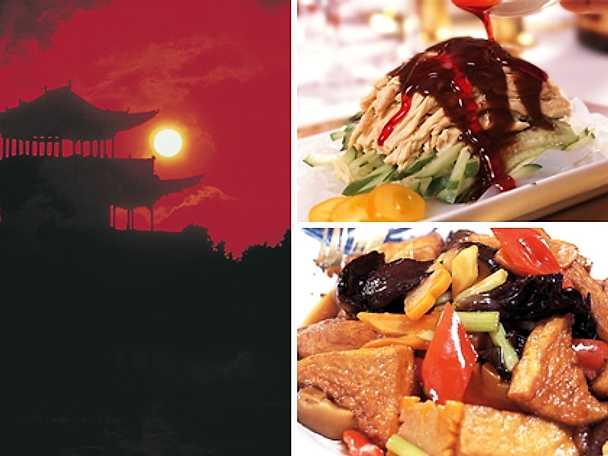 Kinesiskt på menyn under OS