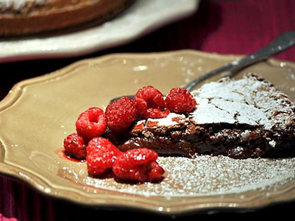 Kladdig kladdkaka by Louise