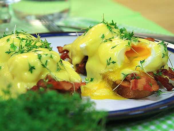 Klassisk ägg benedict