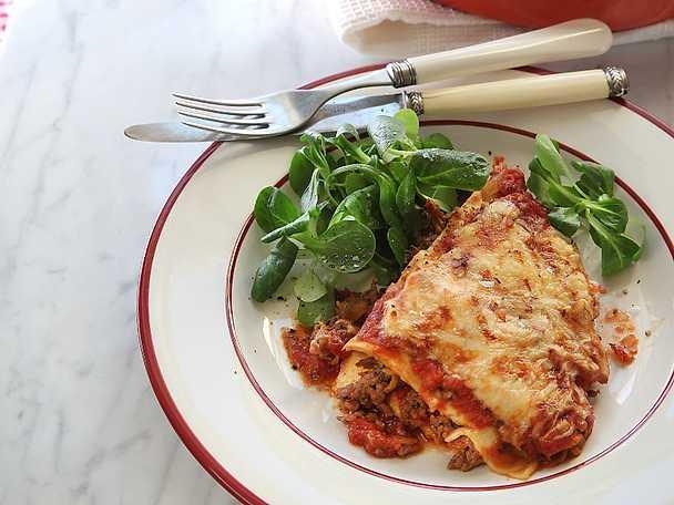 Klassisk lasagne med mexikanska smaker