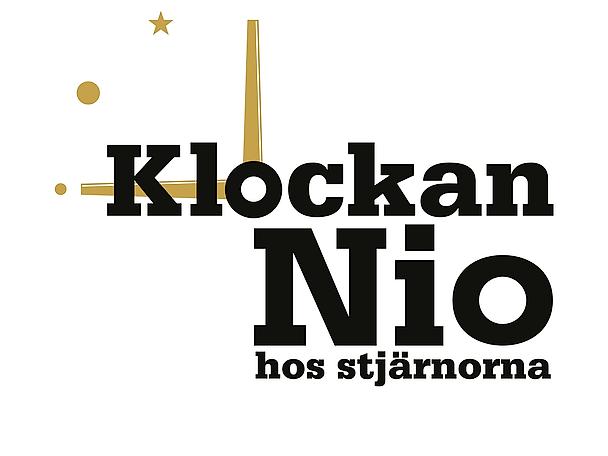 Klockan nio hos stjärnorna logo