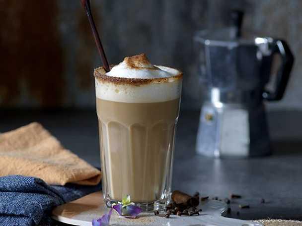 Kockens Chai kaffe latte