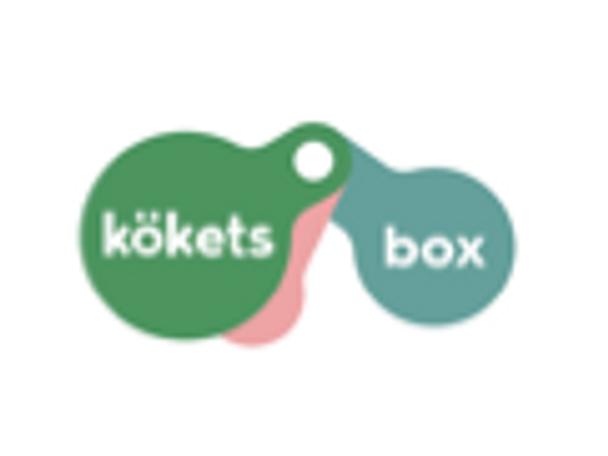 Kökets box tillfällig logga