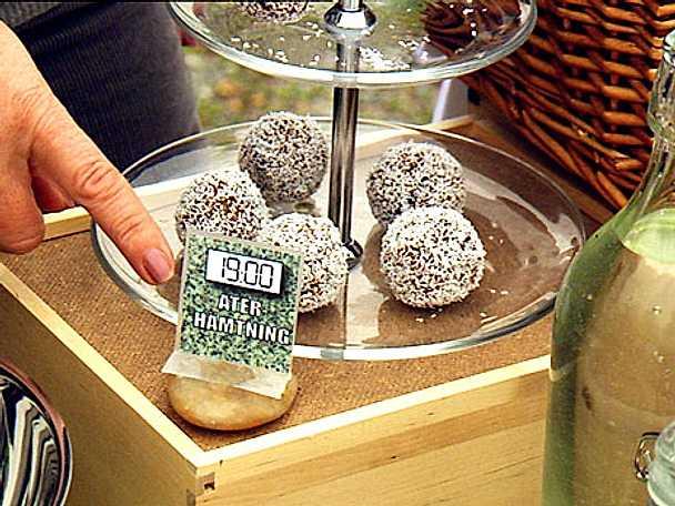 Kokosbollar utan socker