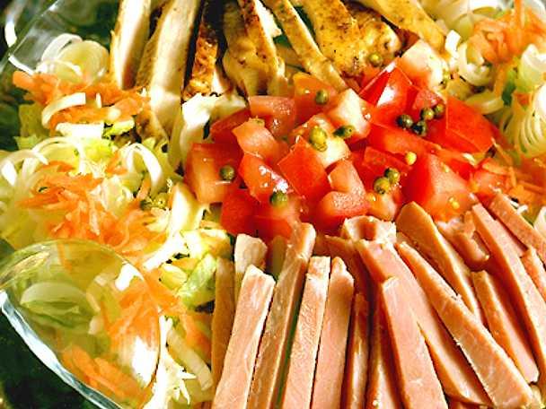 Köksmästarens mexikanska sallad