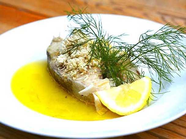 Kokt torsk med pepparrot och skirat smör