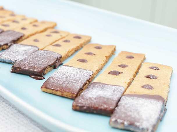 Kolasnittar med choklad - Henrik Fexeus recept