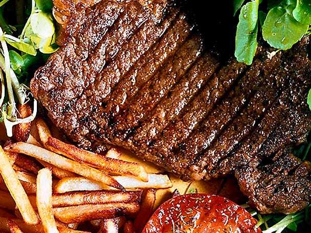 Konjaksmarinerad grillbiff