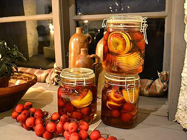 Konserverade äpplen