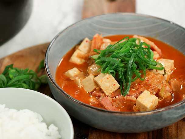 Koreansk kimchigryta