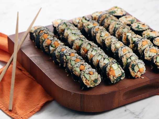 Koreansk sushi - gimbap
