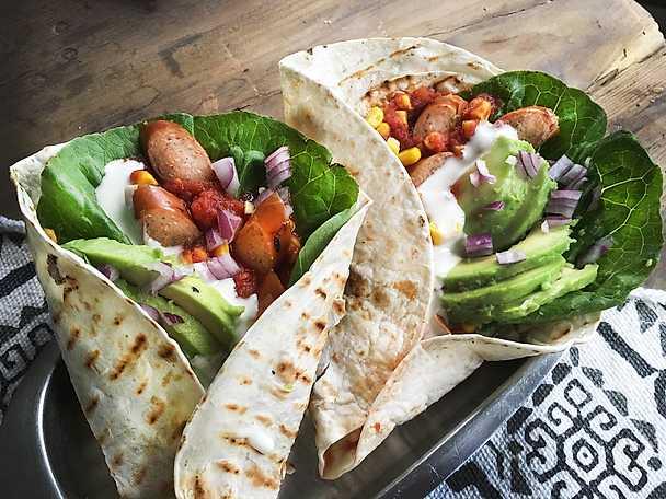 Korvish taco