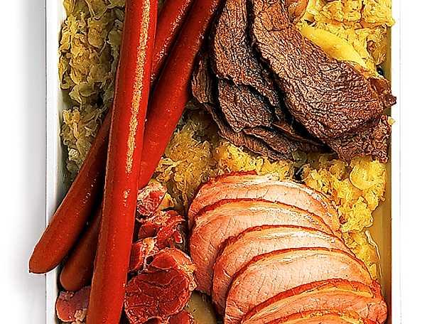 Kött med surkål