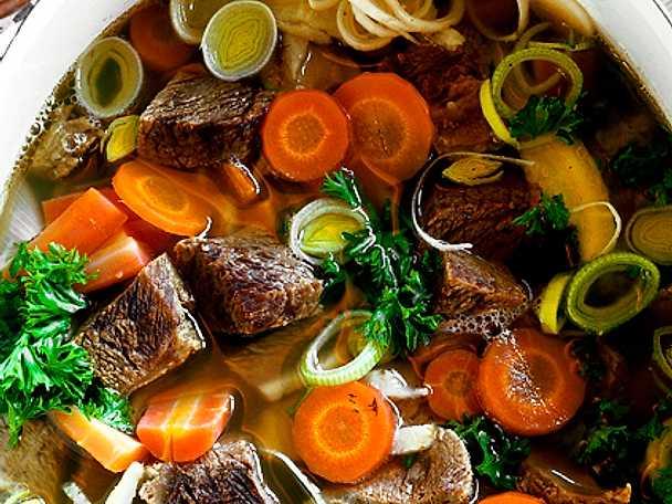 recept med kött