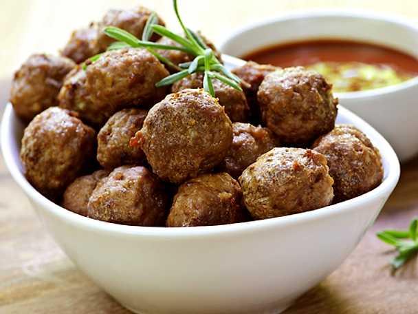 Köttbullar i ugn, Ernsts recept