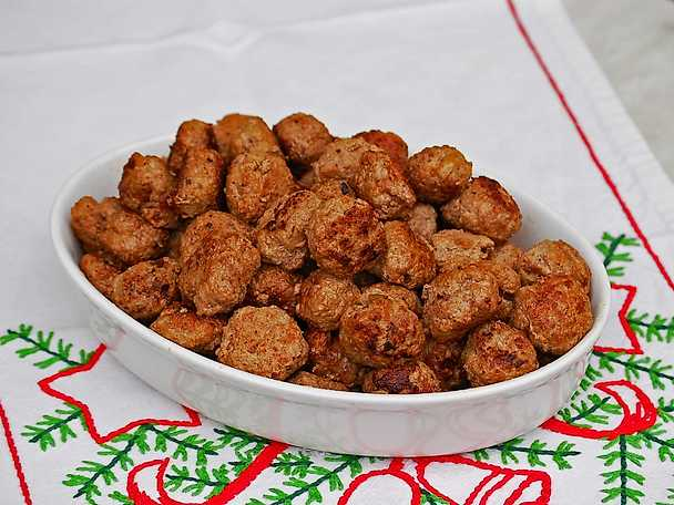 Köttbullar med julkrydda
