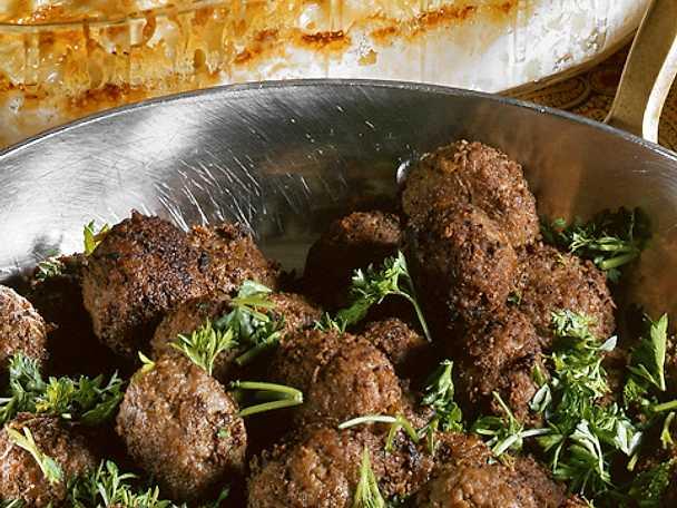 Köttbullar med potatisgratäng