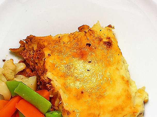 Köttfärspaj - Shepherd's pie