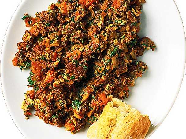 Köttfärsröra med chili