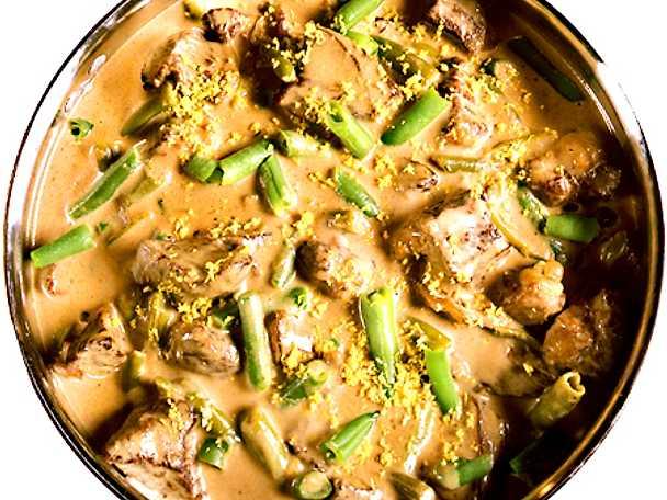 Köttgryta med senapssmak