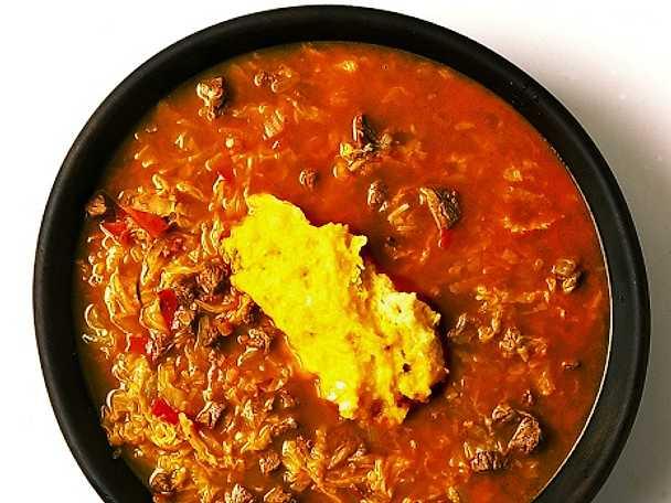 Köttsoppa från Kenya